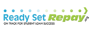 Ready Set Repay.org On Track for Student Loan Success logo